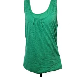 Prana Work Out Athletic Tank Green Size XL